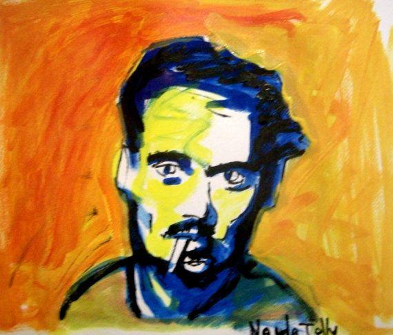 Jhonny Depp by NandoTelly on Etsy, €30.00