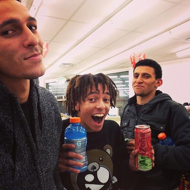 They seriously look like triplets! Khleo, Khameel, and ...