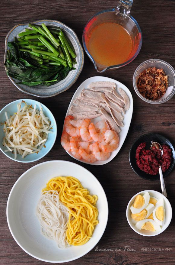 how to make prawn mee soup
