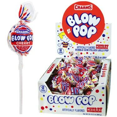 Cherry Blow Pops - 48ct from CandyStore.com