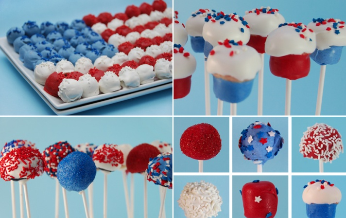 fourth of july wedding ideas cake pops wedding cake alternatives Read the review of cake pop makers! http://www.jennyreviews.com/as-seen-on-tv/cake-pops-by-tasty-top/