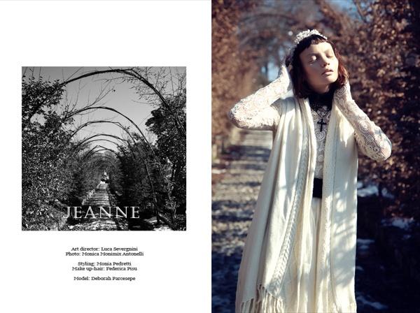JEANNE by Deborah Parcesepe, via Behance