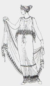 Doric Chitons - Fashion in ancient Greece