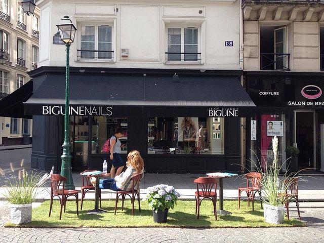 Parking day rue Saint Denis - Paris 2014 / Dédale