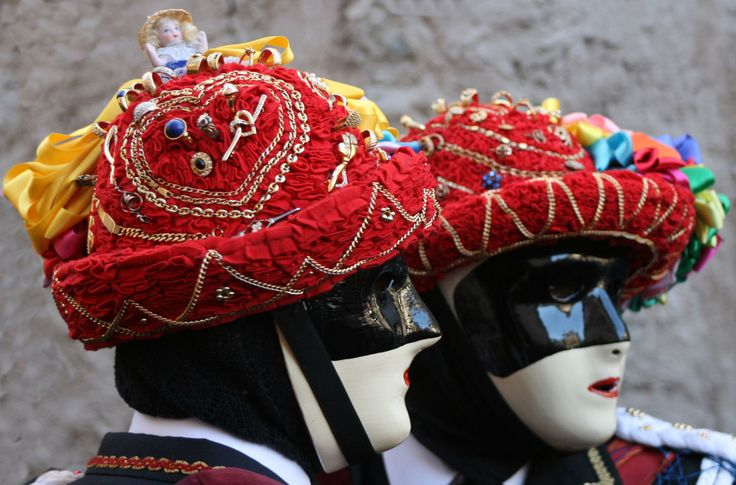 Il Carnevale di Bagolino (o Carnevale Bagosso) in provincia di Brescia, Italy.