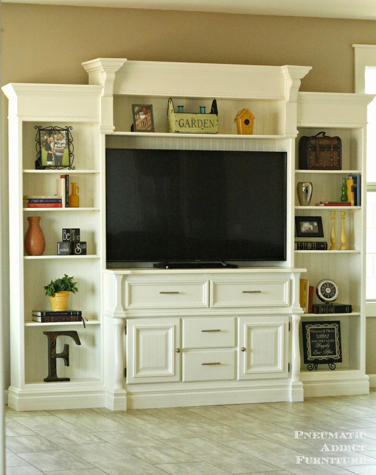Free Easy Entertainment Center Plans Woodworking