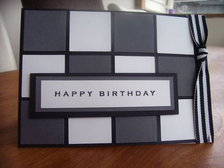 CAS masculine birthday card by PapertreeDesigns