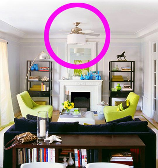 Good Questions: Ceiling Fan With Lampshade?