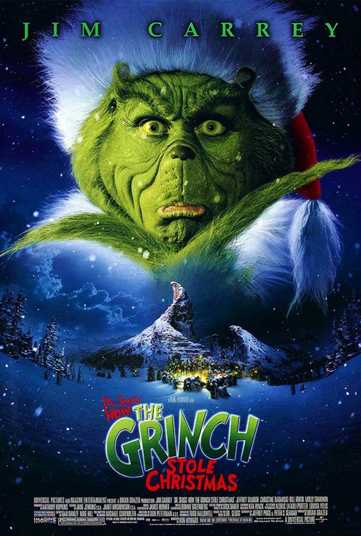 The Grinch Le grinch, Idee deco noel, Cinéma