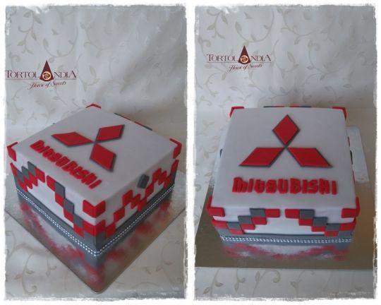 Mitsubishi cake