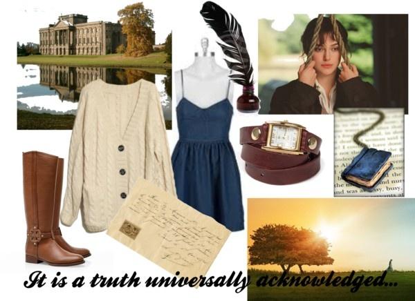 """""""Modern Jane Austen: Elizabeth Bennet"""" by erinraff on Polyvore"""