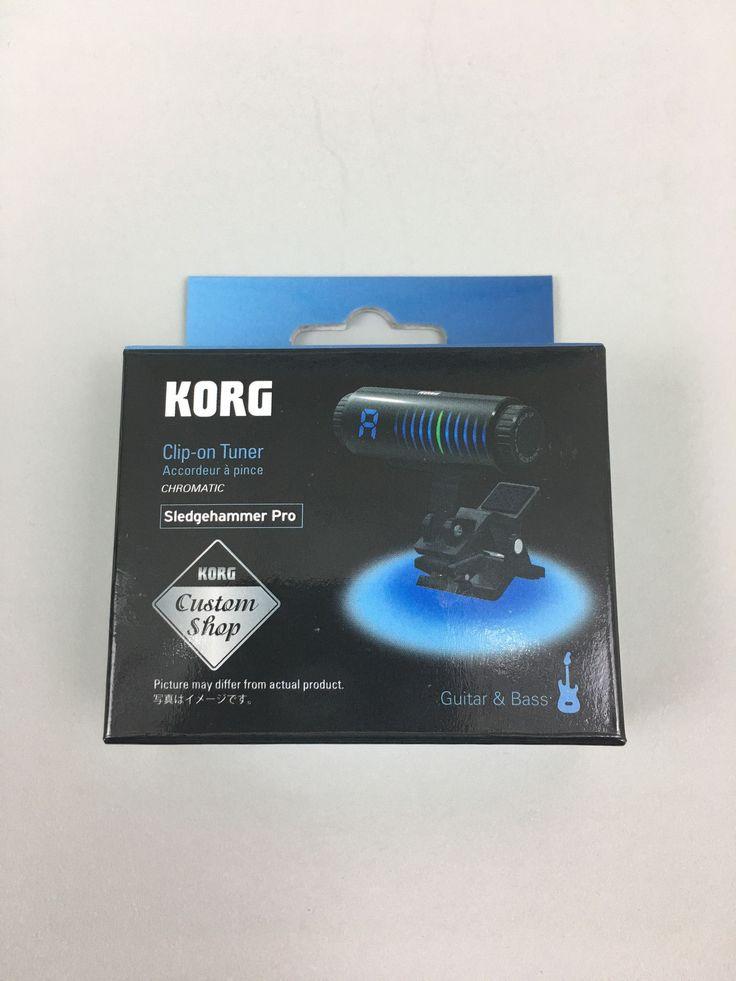 Korg Sledgehammer Pro Clip-On Guitar Tuner