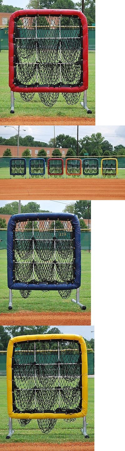 Other Baseball Training Aids 181332: Better Baseball Pitchers Pocket 9 Hole Baseball Softball Pitching Target Red -> BUY IT NOW ONLY: $249.95 on eBay!
