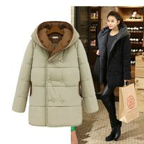 Outwear Winter coat women thicken long cotton-padded jacket Size:S,M,L,XL,XXL Size choose, pls check the picture.