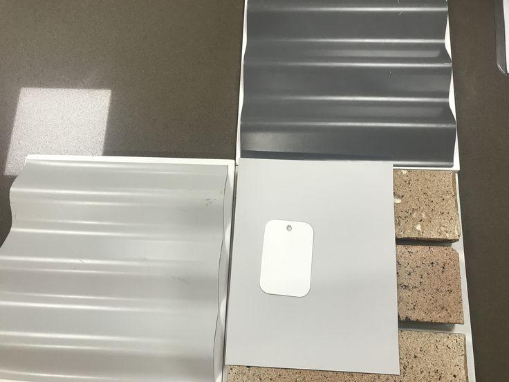 Roof Colorbond Basalt Garage Door Colorbond Shale Grey