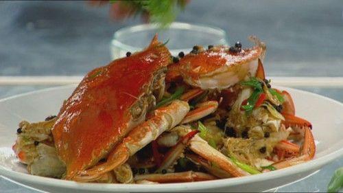 Wok Fried Black Pepper Crab http://masterchefrecipe.net/wok-fried-black-pepper-crab/