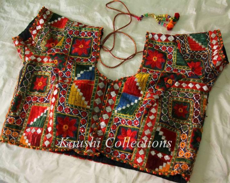 Sparkling fashion ready made kutch rabari work bouses