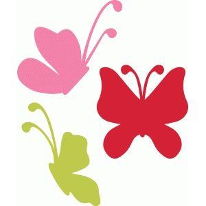 Silhouette Design Store - View Design #125645: butterflies