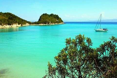 Paxi Island, Greece ☀️