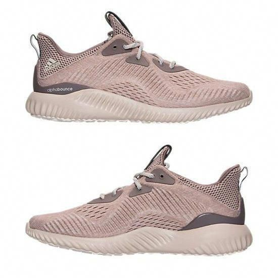 e302233fa2d07 ADIDAS ALPHA BOUNCE WOMEN s RUNNING TECH EARTH - CLEAR WHITE - CRYSTAL BROWN  NEW
