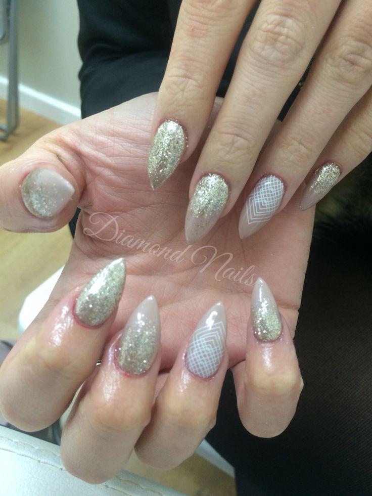 44 best Ashlee\'s Diamond Nails images on Pinterest | Diamond nails ...