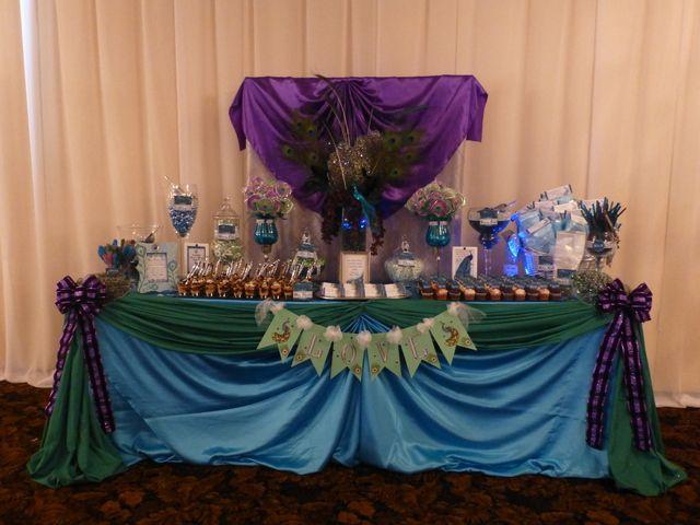 Peacock Wedding Party Ideas