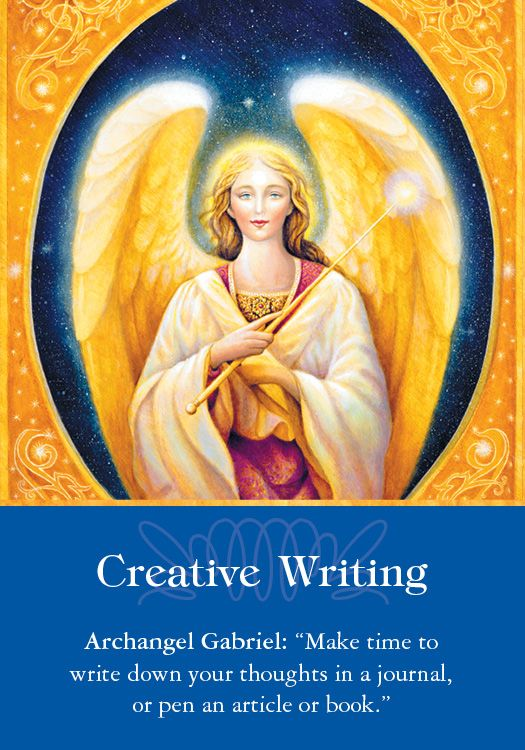 Oracle Card Creative Writing  | Doreen Virtue | official Angel Therapy Web site