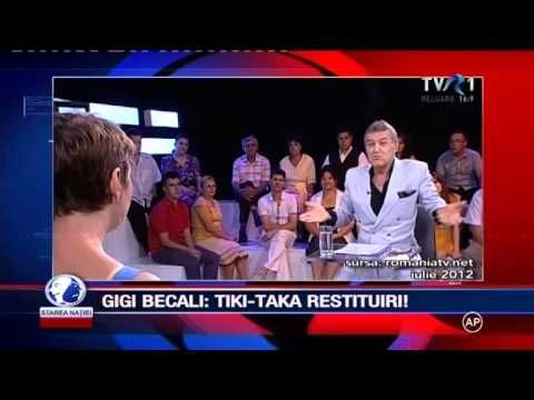 Becali despre Fraude pe Retrocedari ,Cocos, Ioan Oltean 30% , ANRP Tvr1