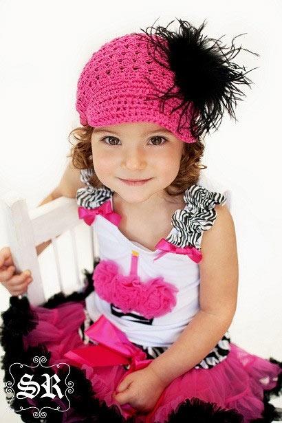 Haute Pink & Zebra Cupcake Couture Top
