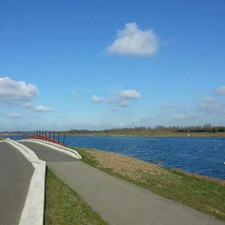 Olympic rowing lake
