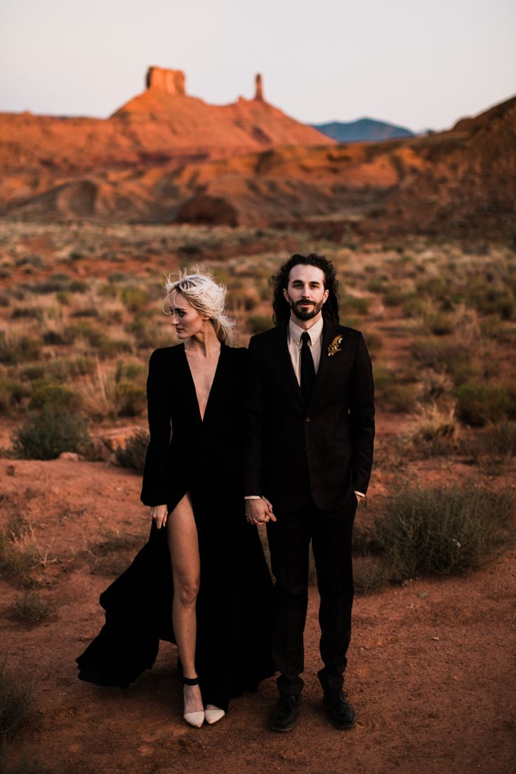 Moab desert elopement inspiration | moab, utah intimate wedding and elopement ph…