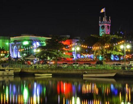 Bridgetown Barbados Christmas Lights
