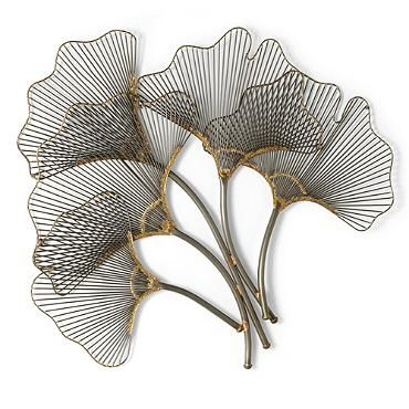 Metal Leaves Wall Decor 25 best garden decor images on pinterest | metal walls, outdoor