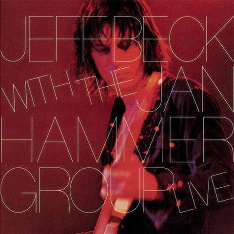 USED VINYL RECORD 12 inch 33 rpm vinyl LP Jeff Beck with The Jan Hammer Group Live was released in 1977, Epic Records (AL34433) Side 1: Freeway Jam Earth She's A Woman Full Moon Boogie Side 2: Darknes