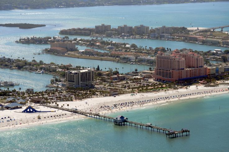 29 best aerials of clearwater beach images on pinterest for Fishing treasure island florida