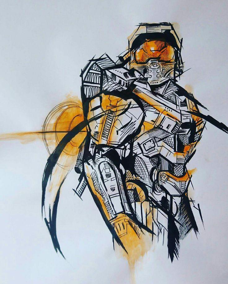 Master Chief (by Anna Quinn)