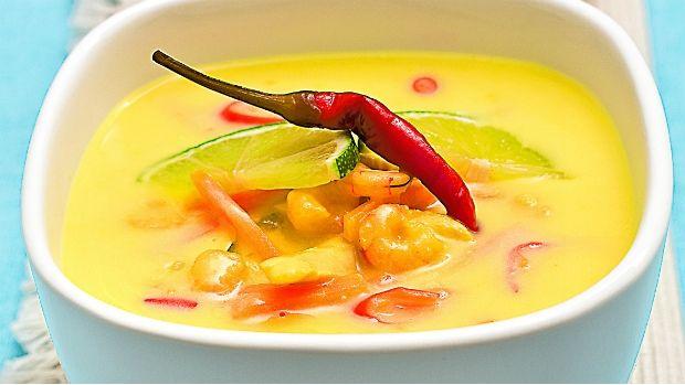 Tradiční thajská polévka se neobejde bez kuřecího masa a kokosového mléka, které…