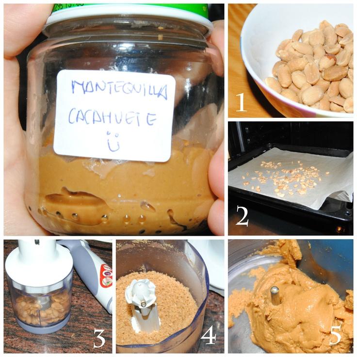 Crema de cacahuete / Penut butter #recipe