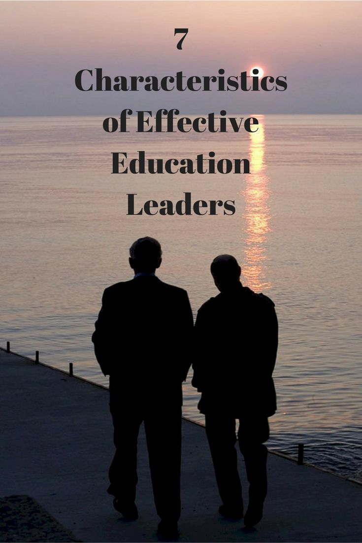 7 Characteristics of Effective Education Leaders - Incorporating the seven key characteristics of principle-centered leaders into an educational program will allow the students to develop the actual leadership skills needed for the business world.