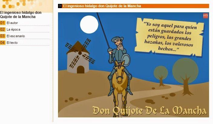 La ardua misión de Don Quijote de la Mancha es....