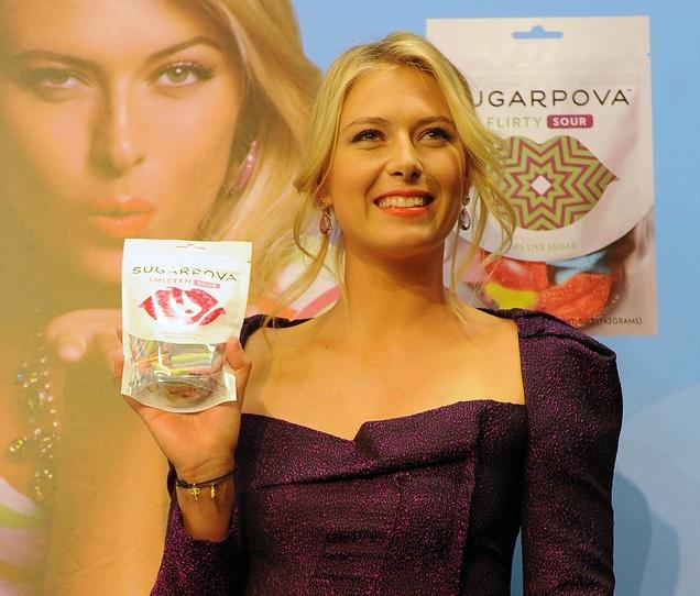 Maria Sharapova launches Sugarpova in Russia #tennis #wta #candy