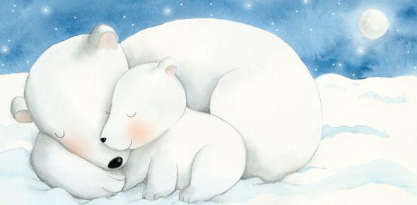 Polar Bears- Siempre Un Beso Antes De Dormir - Alicia Padron Children's book Illustrator