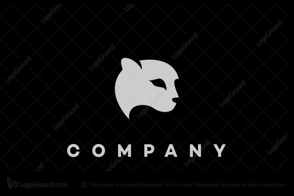 Logo for sale: Panther Head Logo