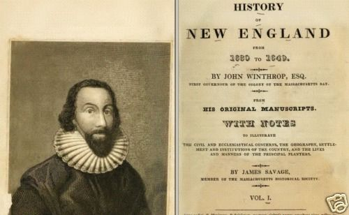 william bradford versus john winthrop Get this from a library cotton mather's lives of bradford and winthrop [cotton mather.