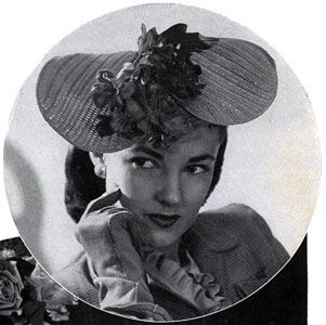 Special Occasion Hat crochet pattern from Smart Bags, originally published by Spool Cotton Co, Book No. 209, in 1944.