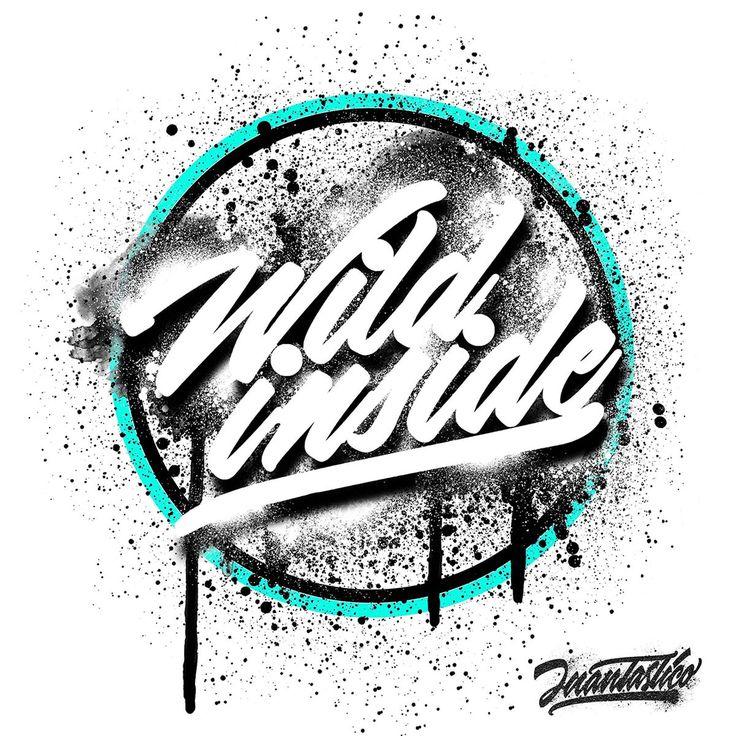 Wild Inside Lettering Graffiti                                                                                                                                                      More