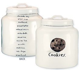 Rae Dunn for Magenta - Chocolate Chip Cookie Jar