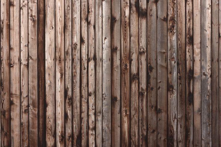Alte Holz-Mauer Fototapete - € 13,95 pro m2!
