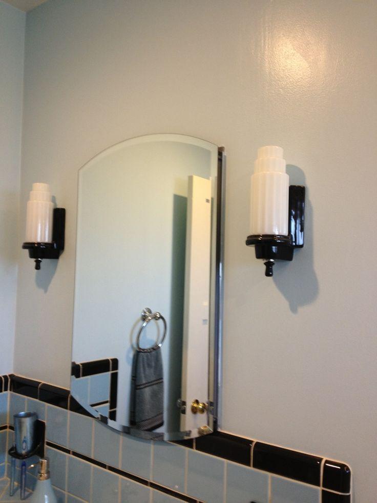 Bathroom Sconces Vintage the 63 best images about vintage bathroom on pinterest | wall