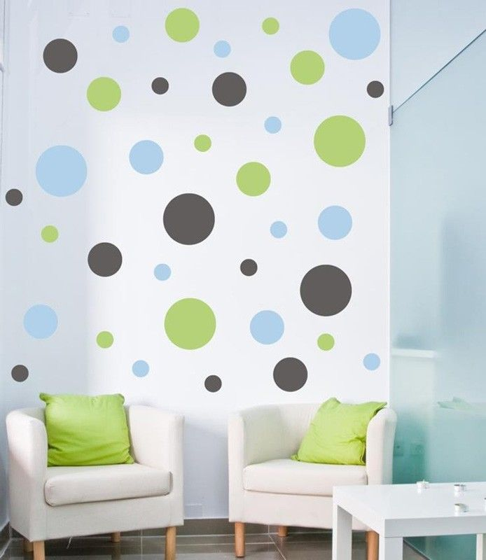 Wall Designs Stickers best 25+ polka dot wall decals ideas on pinterest | gold dot wall